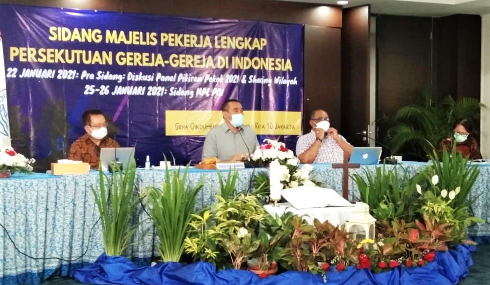 Sidang MPL-PGI 2021 Dibuka Presiden RI Joko Widodo ...